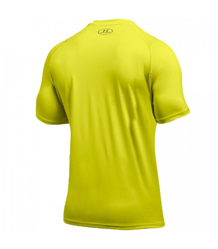 Camiseta Under Armour Ua Tech para hombre en color amarillo