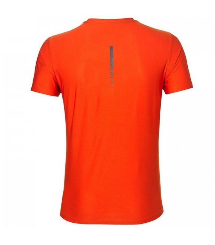 ddd4959060d45 Camiseta de manga corta Asics SS TOP de color naranja