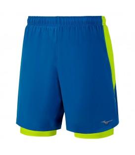 Pantalón corto 2 en 1 de la marca Mizuno ideal para tus salidas y carreras (Ref:J2GB7503 27) . Cómpralo ahora al mejor precio en www.chemasport.es