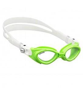 Gafas Cressi Crab FDE 203167 en color verde, gafas de natación para niños en chemasport.es al mejor precio