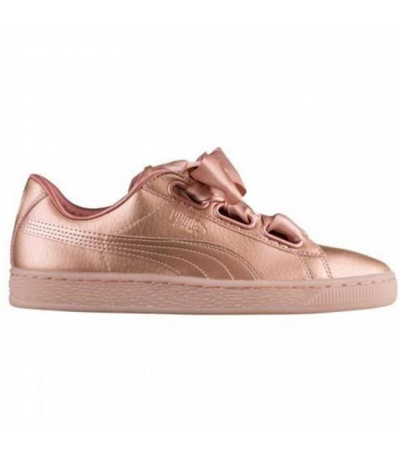 zapatillas mujer puma basket heart
