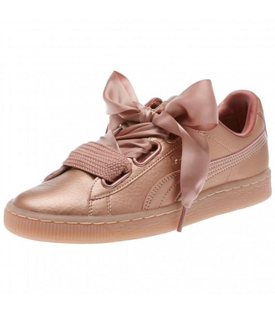 zapatillas puma de mujer basket heart
