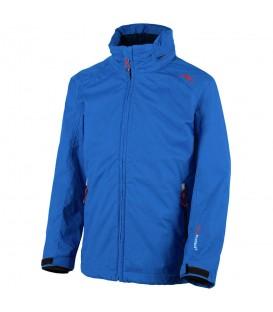 Chaqueta con capucha Campagnolo Boy Jacket Zip Hood para hombre de color azul. Chema Sport es distribuidor oficial de Campagnolo. ReF: 3Z31144D N951