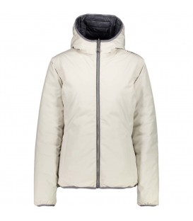 CHAQUETA CAMPAGNOLO WOMAN FIX HOOD JACKET TRECKING MUJER BLANCO 3Z31144D N951