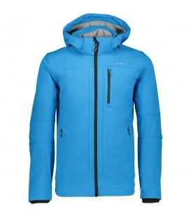Chaqueta de cremallera Maz Zip Hood de Campagnolo ideal para su uso al aire libre o el día a día. Ref: 3A01787N 24BB Color Azul Cómprala ahora y recíbela en 48h