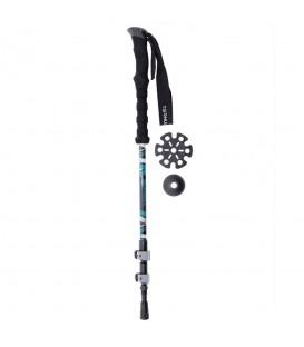Bastón Ternua Kang Pole 2640014 2267 en color negro y azul, bastone tkerring en chemasport.es