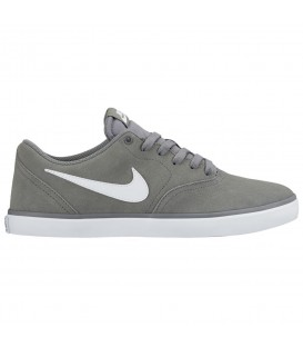 ZAPATILLAS NIKE SB CHECK SOLARSOFT 843895-005 GRIS UNISEX