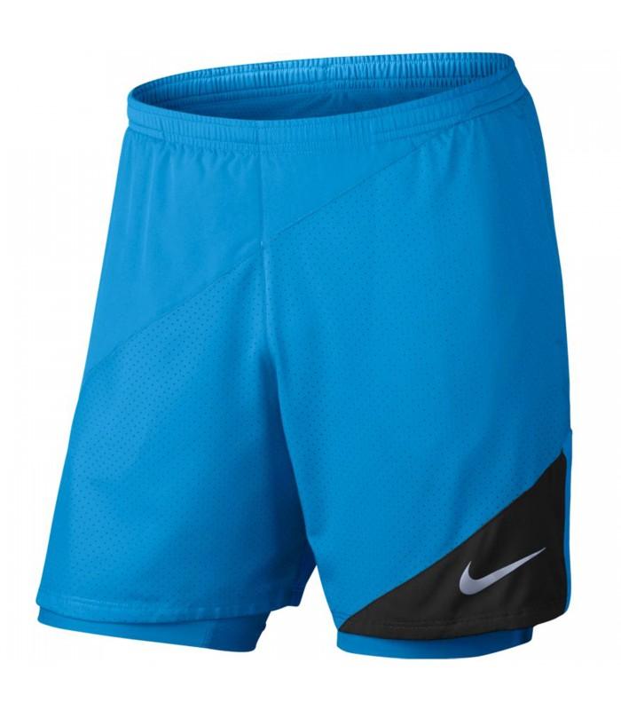 Pantalón Nike Flex 2IN1 para hombre en color azul bb2269a1873