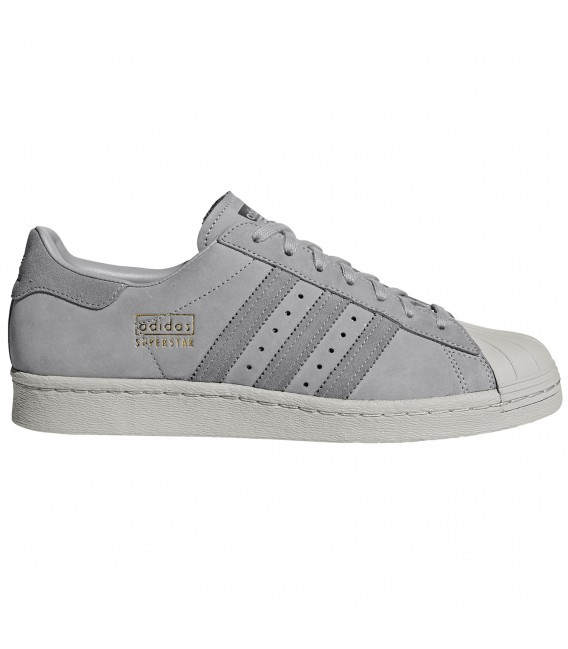 72faf3db19bcb Zapatillas adidas Superstar 80S en color gris