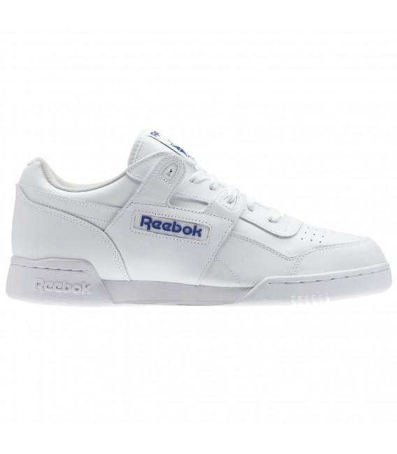 d15f3dbad42f2 Zapatillas Reebok workout Plus para hombre en color blanco