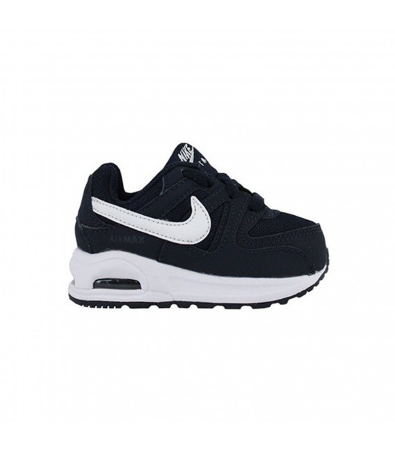 4ed0d69c3c6a8 Zapatillas Nike Air Mac Command Flex Td para niño en color azul marino