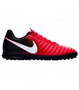 Compra ahora y al mejor precio las nuevas botas de fútbol para niño Nike TiempoX Rio IV (TF) Artificial-Turf. Ref: 897736-616. ¡Descubre más en nuestro Outlet!