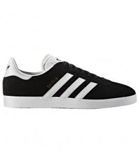 Zapatillas adidas Gazelle BB5476 en ante de color negro al mejor precio en chemasport.es