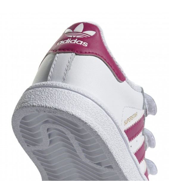 competitive price 68a27 bc815 Zapatillas adidas Superstar CF I para niño en color blanco