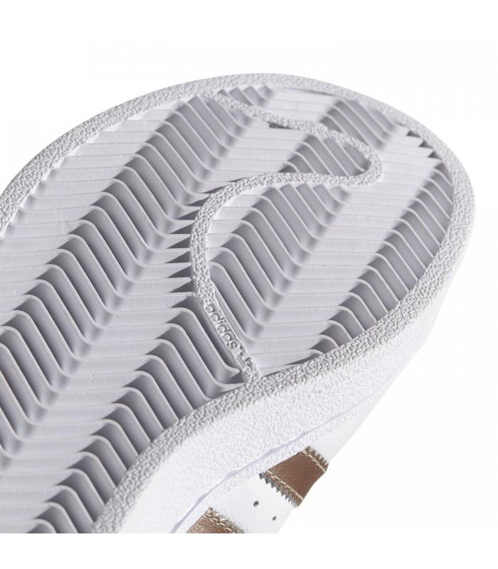 1b41bf6a0 Zapatillas adidas Superstar Woman para mujer en color blanco y dorado
