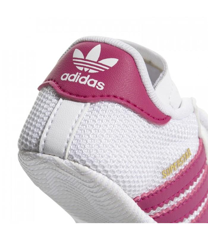 adidas superstar blanco rosa