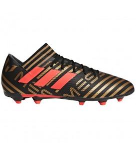 Botas de fútbol adidas Nemeziz Messi 17.3 FG CP9036 en color negro y dorado, entra en chemasport.es y descubre más modelos de botas de fútbol adidas