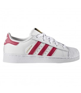 ZAPATILLAS ADIDAS SUPERSTAR C ROSA NIÑO