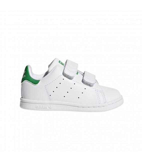 adidas stan smith verde velcro