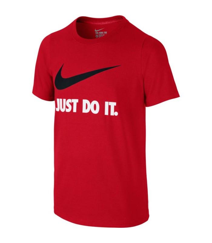 2bcad38d9f Camiseta Nike Just Do it para niño de color rojo