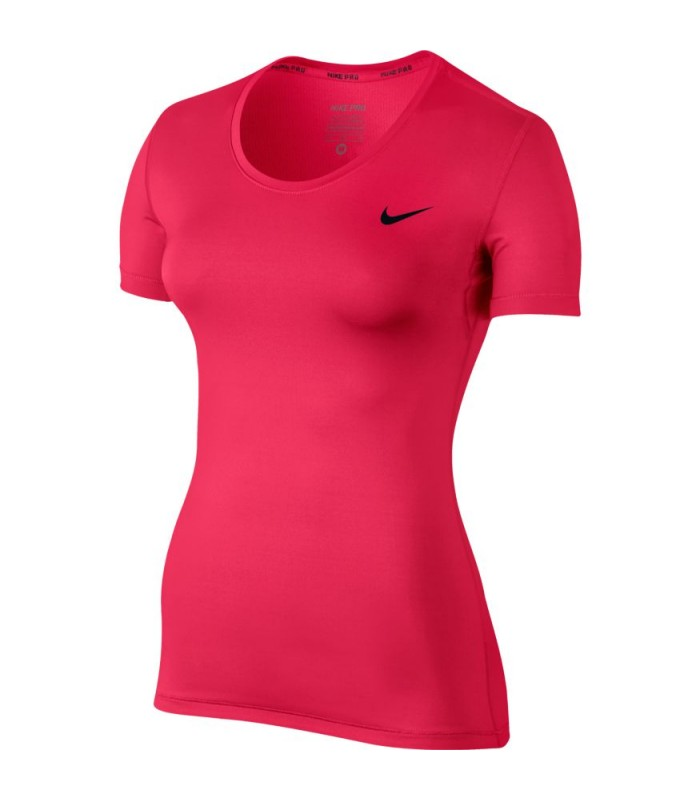 85dd9447eab04 Camiseta Nike Women Pro Top de color rosa