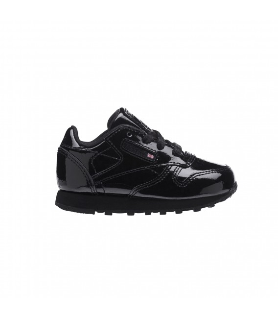 f653646a72a Zapatillas Reebok Classic Leather Patent para niños en color negro