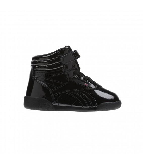 9afdba56717 Zapatillas Reebok F S Hi Patent para niños en color negro