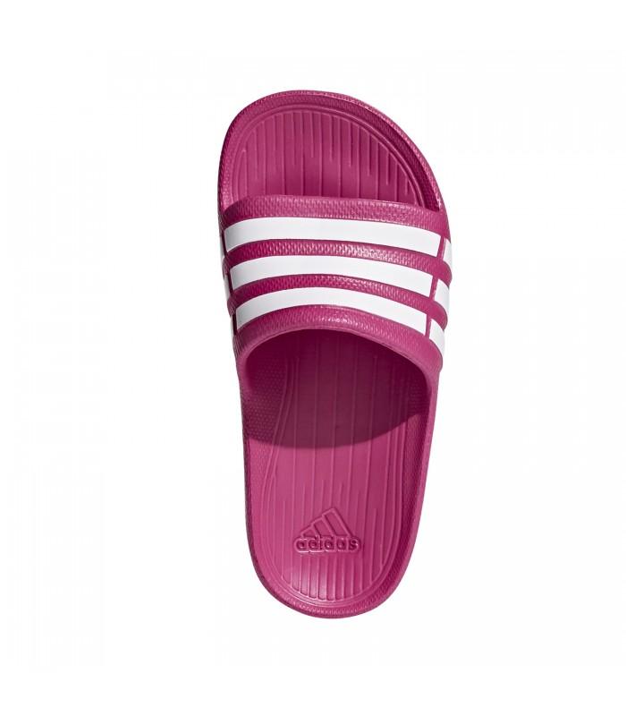 40d3df5b4 Chanclas adidas Duramo Slide en color rosa para niños