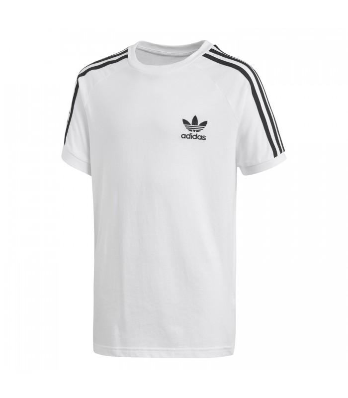 7fc87c39cd359 Camiseta adidas California para niños en color blanco
