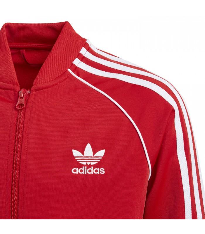 Adidas Color Sst Niños Para Chaqueta Rojo En HxqCZqw