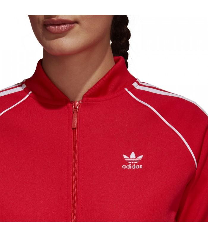 258d577fbfd Chaqueta adidas SST para mujer en color rojo