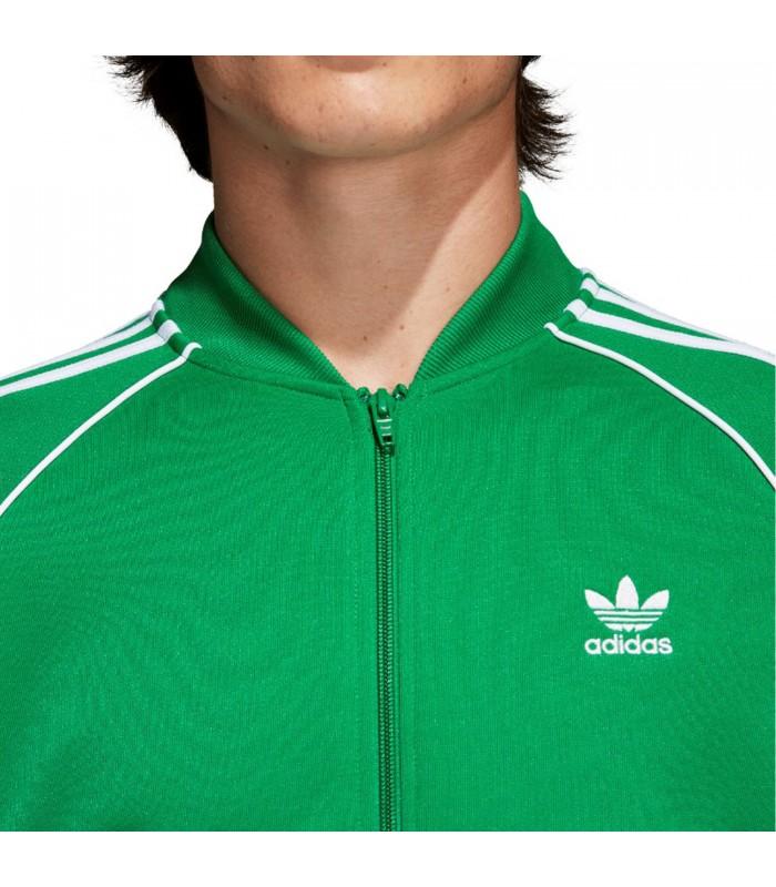 el más nuevo 389dd 1a742 Chaqueta adidas SST para hombre en color verde