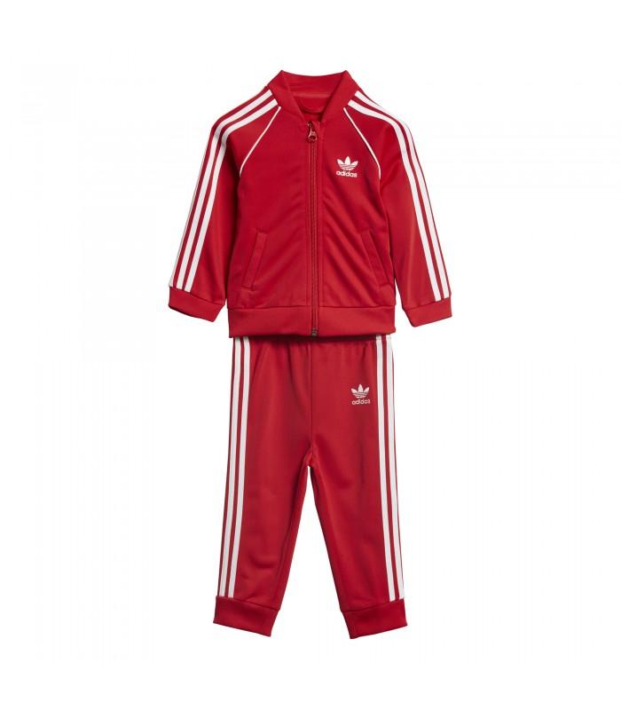 c6255cf70d30 Chandal adidas SST para niño de color rojo