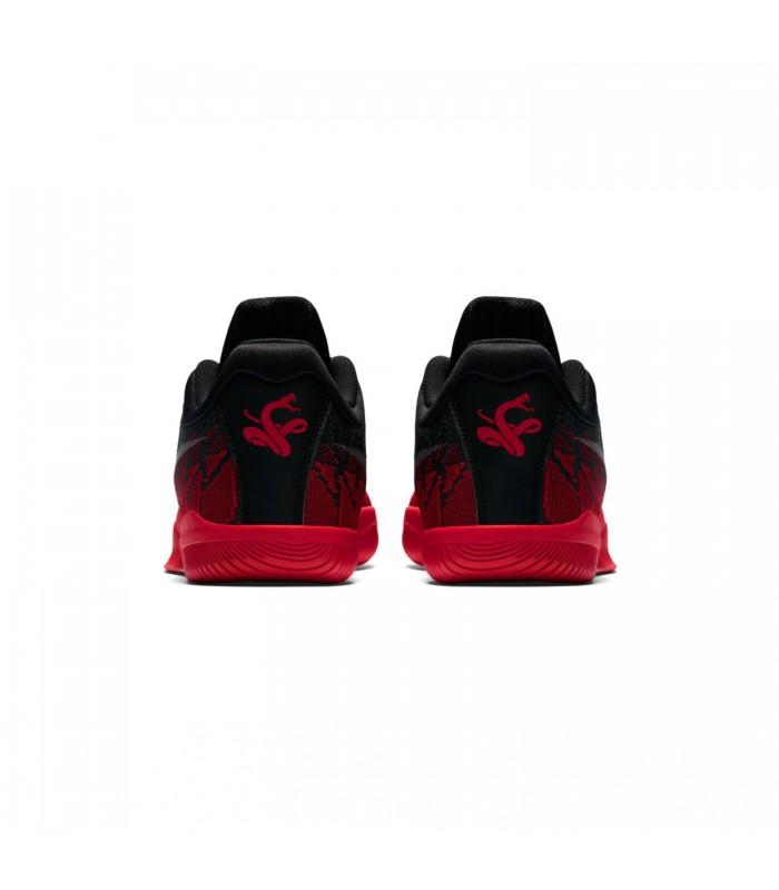 44e1fec7d9c49 Zapatillas Nike Mamba Rage Premium para hombre en color negro y rojo
