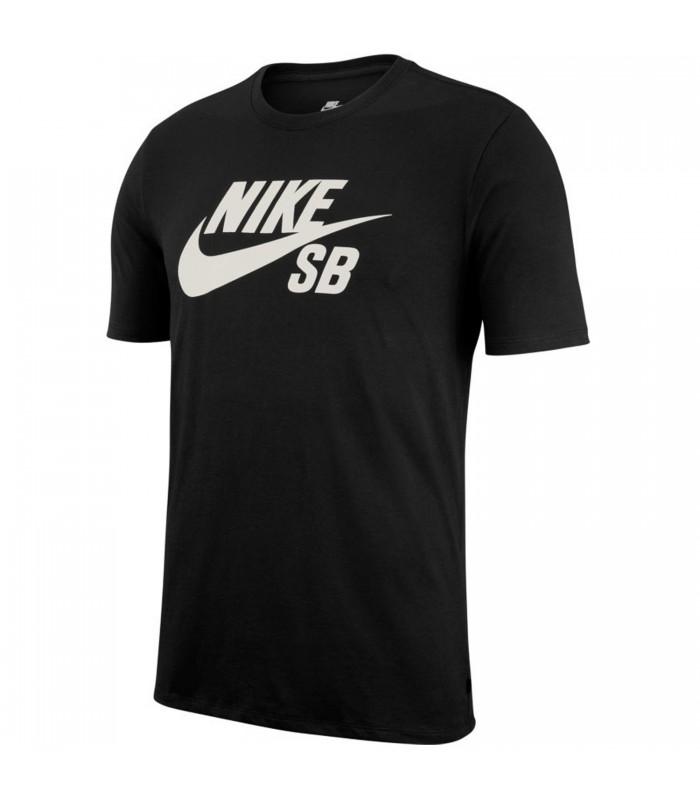 Camiseta Nike SB Logo Tee para hombre en color negro ae557d1347fb1
