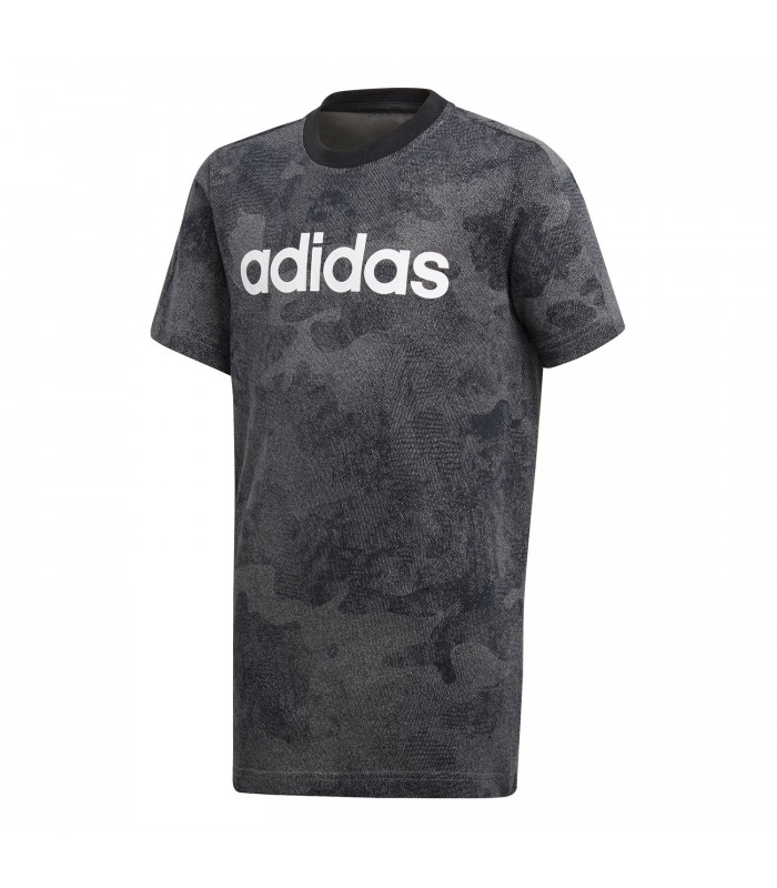 2c003b3f3e4a3 Camiseta adidas Essentials Linear para niño en color gris