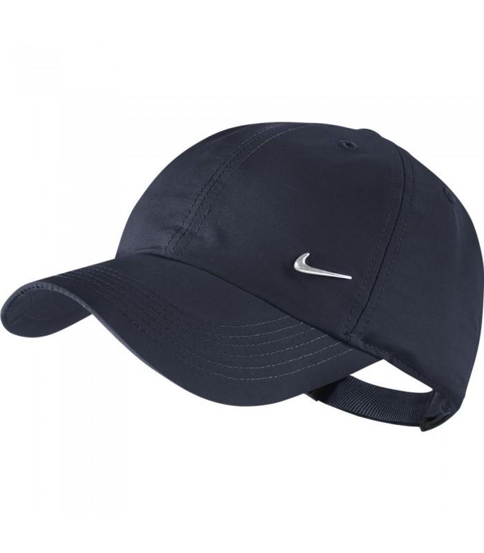 5e32b9cd1f451 Gorra regulable para niño Nike Metal Swoosh Logo de color azul