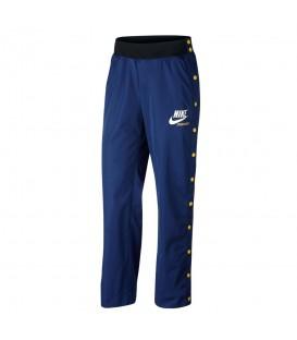 Pantalón para mujer Nike Sportwear W de color azul al mejor precio en chemasport.es