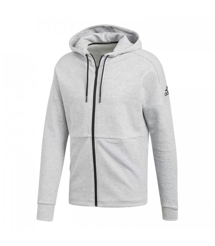 cc538a5cf2b15 Chaqueta con capucha adidas ID Stadium para hombre en color gris
