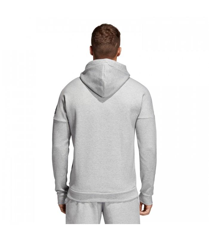 04f201cc6abee Chaqueta con capucha adidas ID Stadium para hombre en color gris