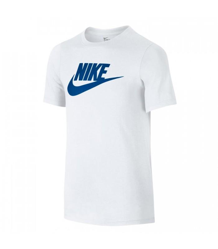 Camiseta Nike Futura Icon para niño en color blanco 5698faa75ed56