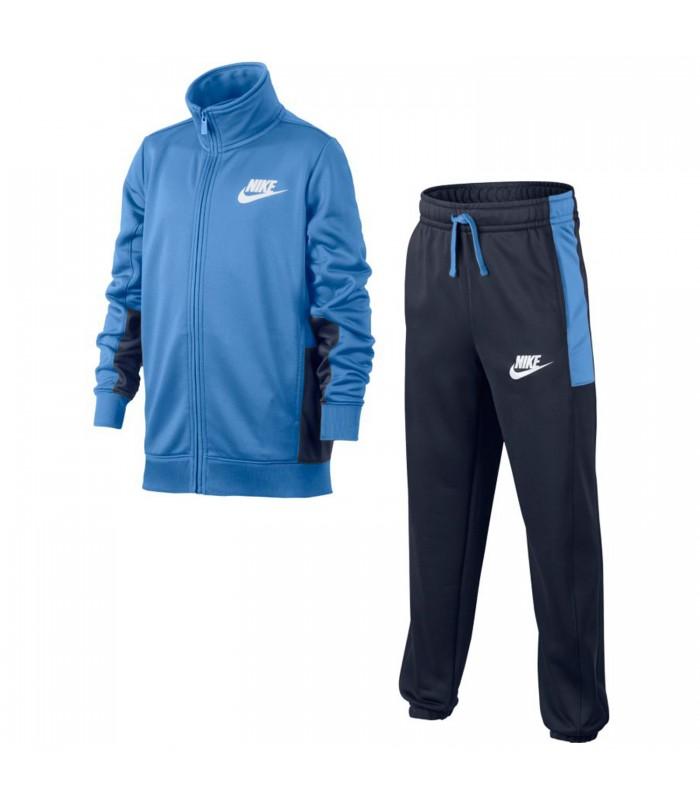 Rudyard Kipling Talla Fuera de servicio  Chándal Nike Sportwear para niños en color azul