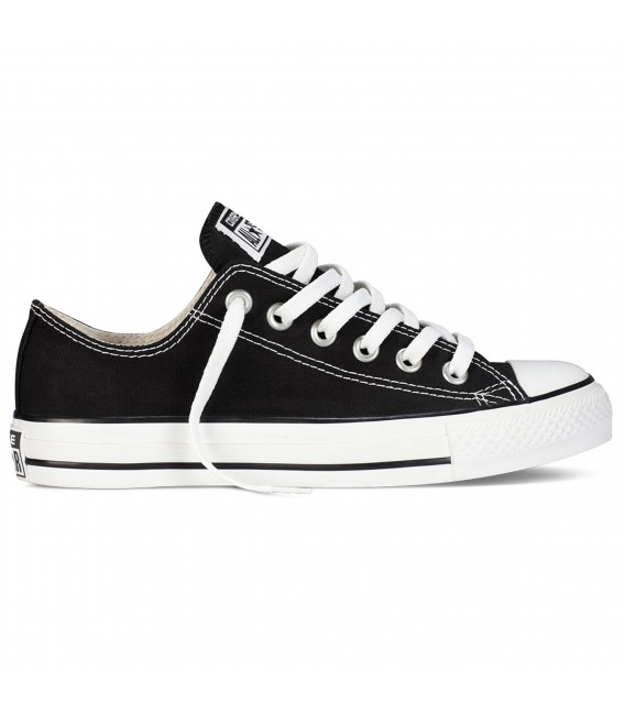 1b548c3dc Zapatillas unisex Converse Chuck Taylor All Star OX color negro