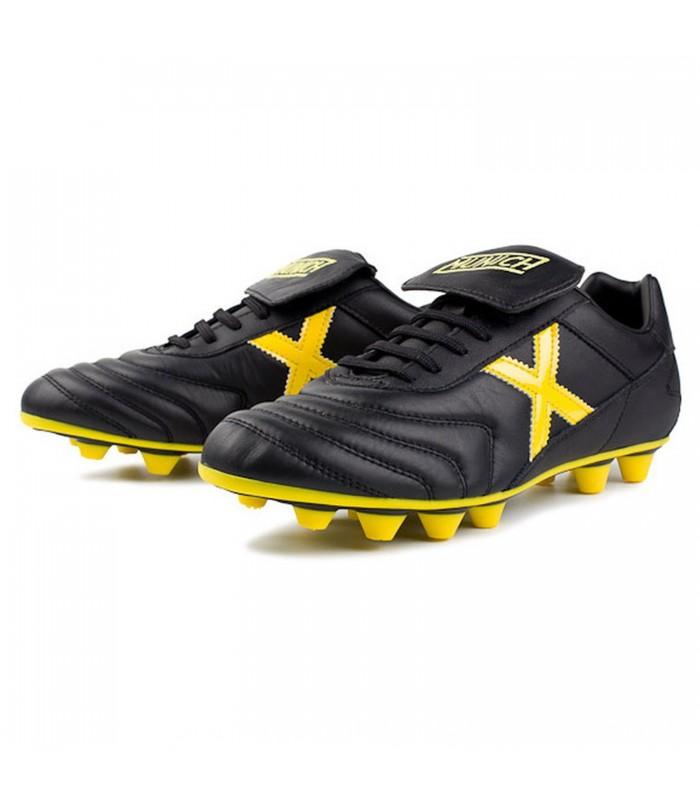 low cost c0a0e a8572 Botas de fútbol Munich Mundial U para hombre en color negro