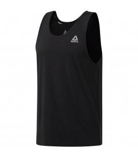 Camiseta de alzas para hombre Reebok Classic Tank Top de color negro. Tank top para hombre básico de color negro. Ref: CE3914.