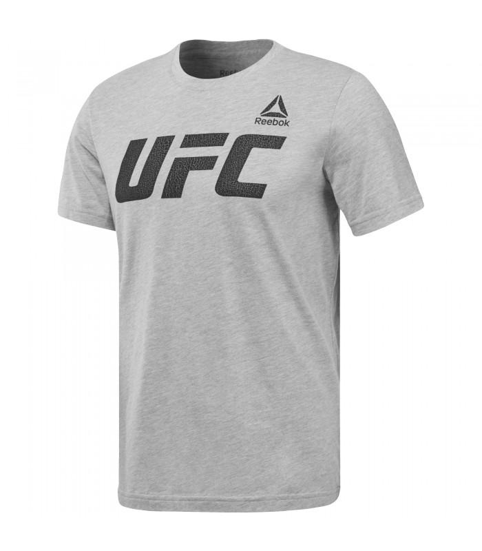 84e91c408e6d2 Camiseta para hombre Reebok UFC Graphic logo de color gris
