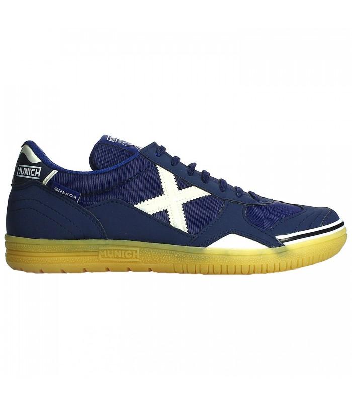 f5f6537fca7 Zapatillas de fútbol sala Munich Gresca 07 en color azul marino
