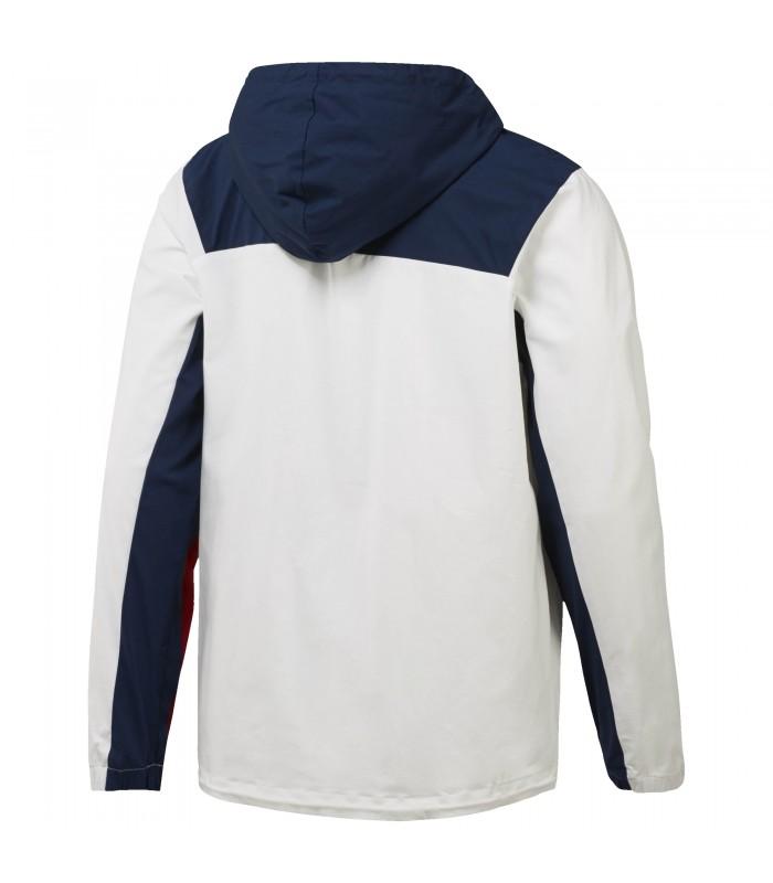 0c8770cb5d809 Sudadera estilo anorak de algodón para hombre Reebok EF 1 2 FZ