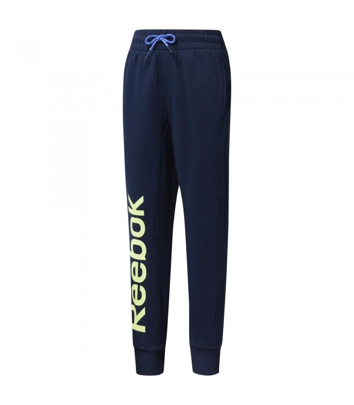 Pantalón de chandal Reebok Boys para niño de color azul d09acd8ac847
