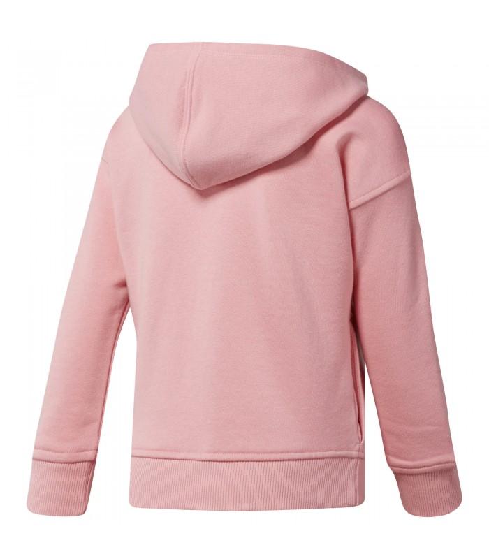 fa3f14baf Sudadera Reebok con cremallera integral Girls Full Zip color rosa
